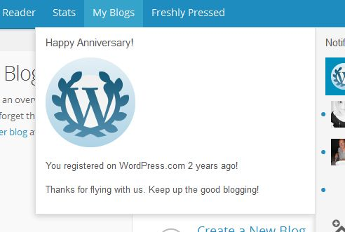 Bloggiversary No. 2!