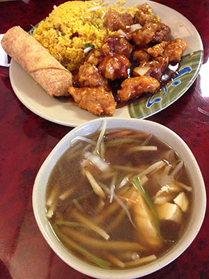 Chinese food in Kingston