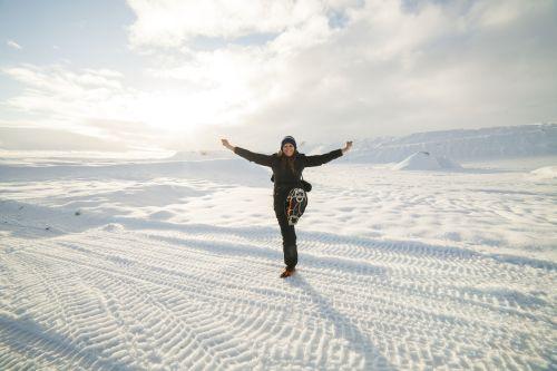 Hiking a Glacier
