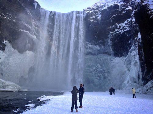 Skogafoss Waterfall perhaps?