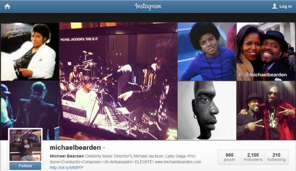 Michael Bearden on Instagram